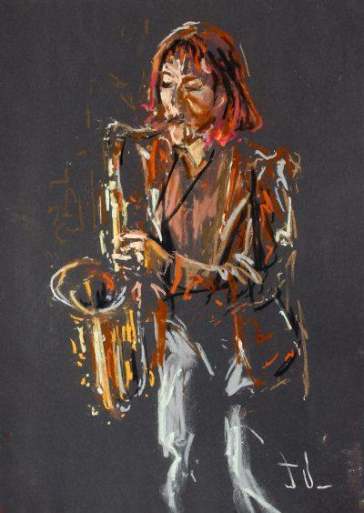 Tori Freestone Tenor Sax