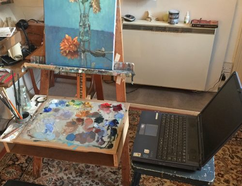Working in oils. Thursday 2 – 4 pm in collaboration with Artslink
